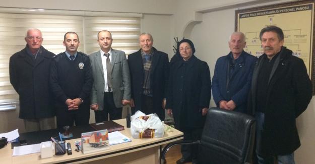 CHP Arifiye İlçe Örgütünden taziye ziyaret