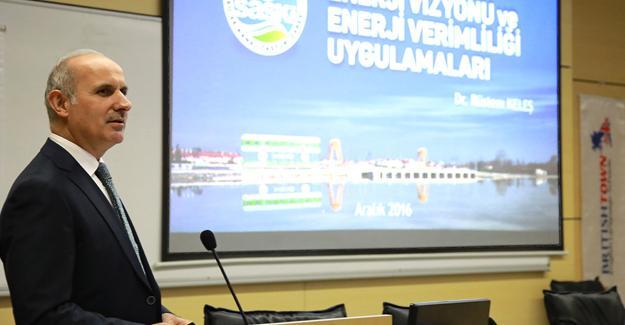 """""""Enerji verimliliğinde Türkiye'de öncüyüz"""""""