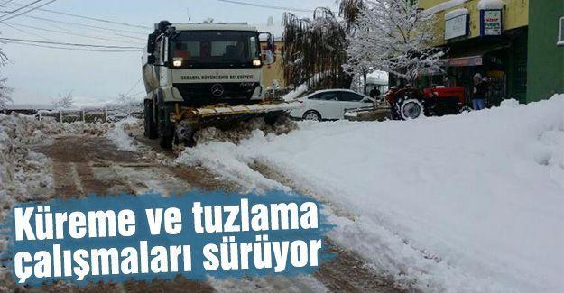 Karasu'da kar seferberliği