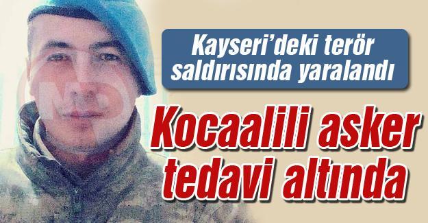 Kayseri'deki terör saldırısında yaralandı