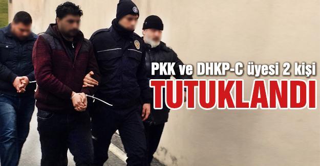 PKK ve DHKP-C üyesi 2 kişi tutuklandı