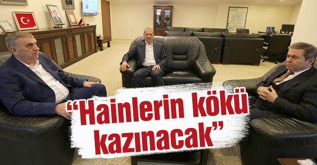 Toçoğlu ve Dişli'den Emniyet Müdürüne ziyaret