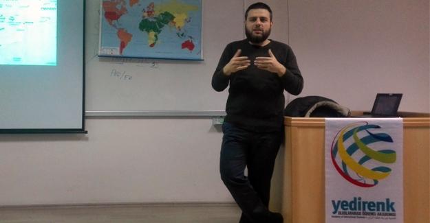Yedirenk Akademi'de Türkiye'nin Orta Doğu siyaseti konuşuldu
