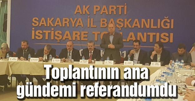 AK Parti Sakarya'dan istişare toplantısı