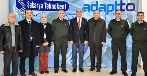 Albay Sinan Eren'den Teknokent'e ziyaret