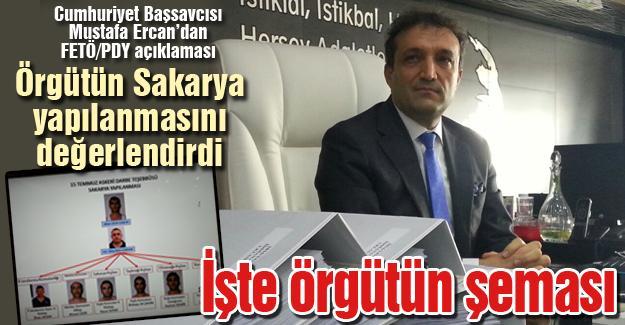 Başsavcı Mustafa Ercan'dan FETÖ/PDY ile ilgili açıklama