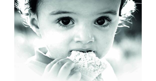 'Çocuklar aç iken biz israf etmeyelim!'