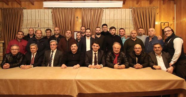 Güreş Federasyonu Başkanı Akyazı'daydı