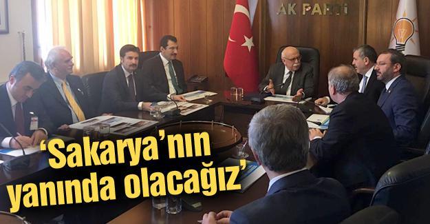 Kültür ve Turizm Bakanı Avcı'yı ziyaret ettiler