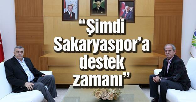 Kulüp Başkanı Gürses Başkan Toçoğlu'nu ziyaret etti