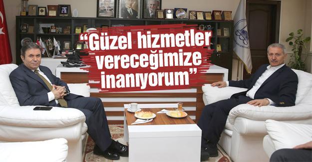 Pınarbaşı'dan, Dişli'ye iadeyi ziyaret