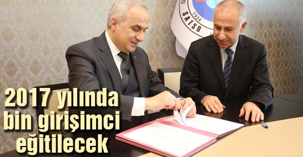 SATSO ile İŞ-KUR arasında protokol imzalandı