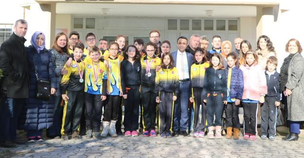 Su Sporları Kulübünden Türkiye rekoru