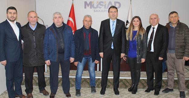 Türkiye Beyazay Derneği'nden MÜSİAD'a ziyaret
