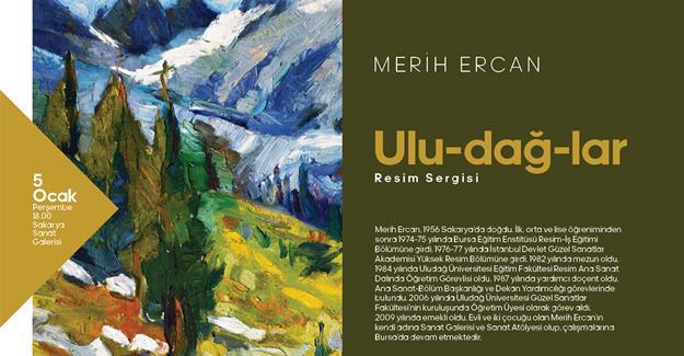 'Ulu-dağ-lar' sanatseverlerle buluşuyor