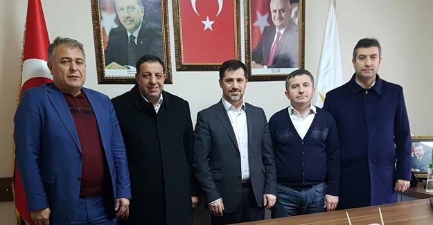 AK Parti İlçe Başkanlarından Sofu'ya ziyaret