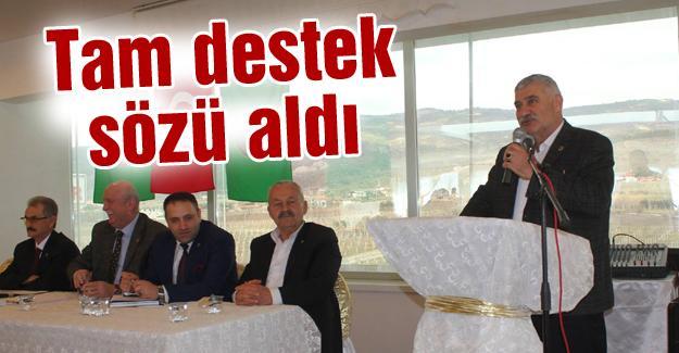 Başkan Keser Antalya'daydı