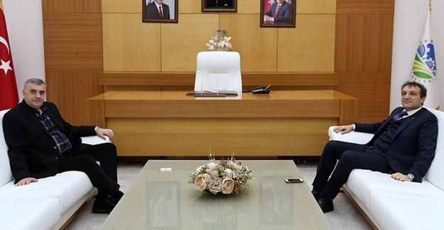 Başsavcı Ercan'dan Toçoğlu'na veda ziyareti