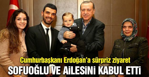 Cumhurbaşkanı Erdoğan, Sofuoğlu ailesini kabul etti