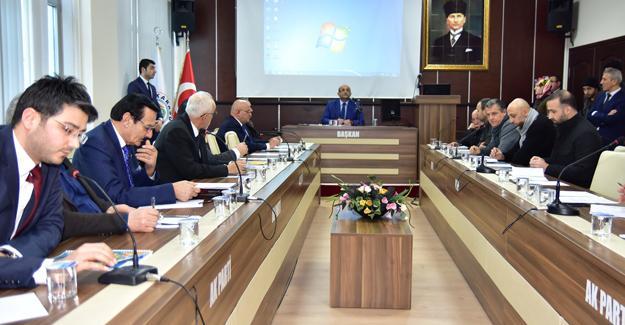 Karasu Belediyesi Şubat Meclis Toplantısı yapıldı