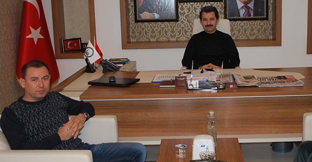 Liman İşletme Müdürü Gökçen'den Başkan Acar'a ziyaret