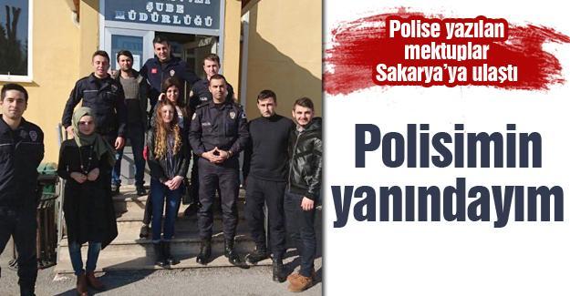 Polislere yazılan mektuplar Sakarya'ya ulaştı