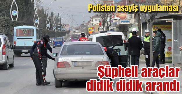 Polisten asayiş uygulaması