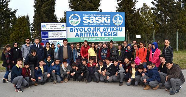 SASKİ tesisleri öğrencilerin takdirini topluyor