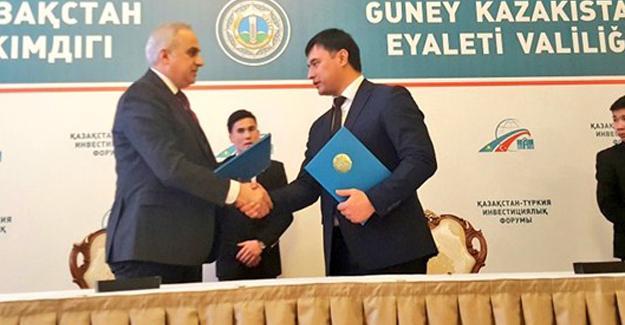 SATSO Başkanı Kösemusul Kazakistan'da