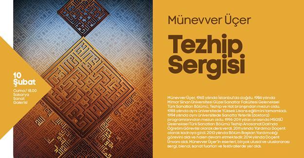 Tezhip Sergisi Sanat Galerisi'nde açılıyor