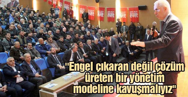 AK Parti Genel Başkan Yardımcısı Kaya partililerle buluştu