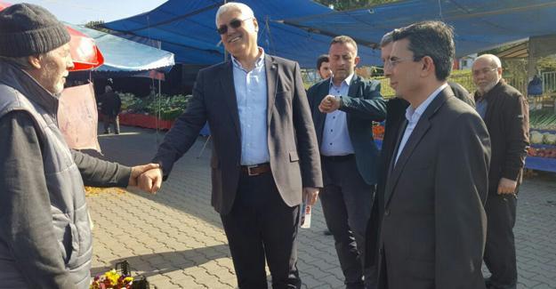 Başkan Ak Karaman'da referandumu anlattı