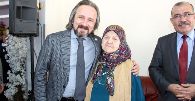Başkan Kazan yaşlıları unutmadı