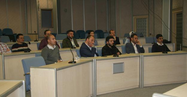 Belediye personeline oryantasyon eğitimi