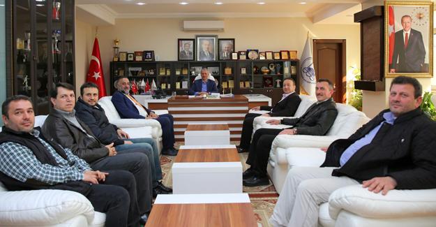 Berberler Odasından Başkan Dişli'ye ziyaret