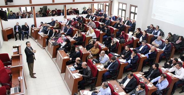Büyükşehir personeline seminer