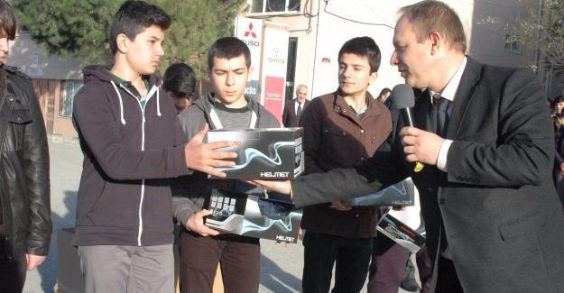 Fatih MTAL'de öğrencilere devamsızlık ödülü
