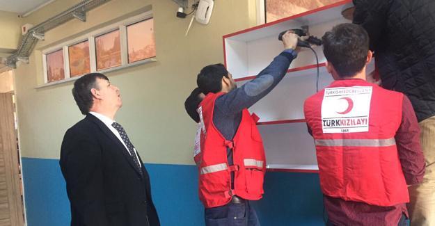 Genç Kızılay Sakarya'dan kardeşlerine yardım eli