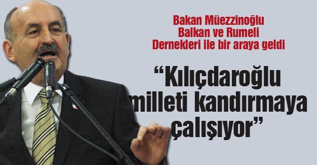 """""""Kılıçdaroğlu milleti kandırmaya çalışıyor"""""""