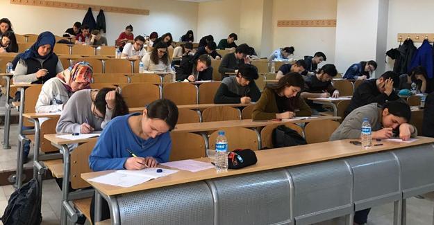 Öğrencilere YGS provası