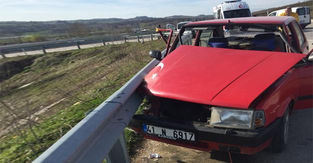 Otomobil ile panelvan çarpıştı: 1 yaralı