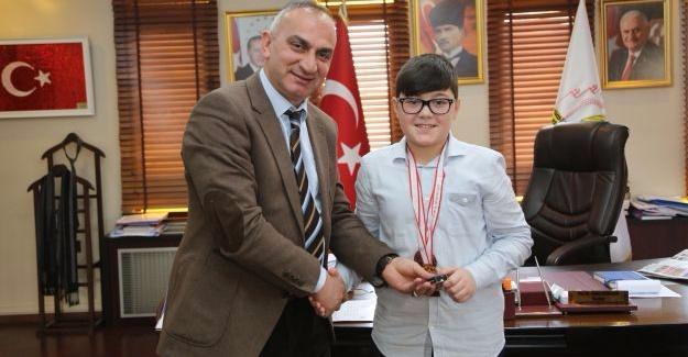 Türkiye 3'üncüsünden Başkan Yılmazer'e ziyaret