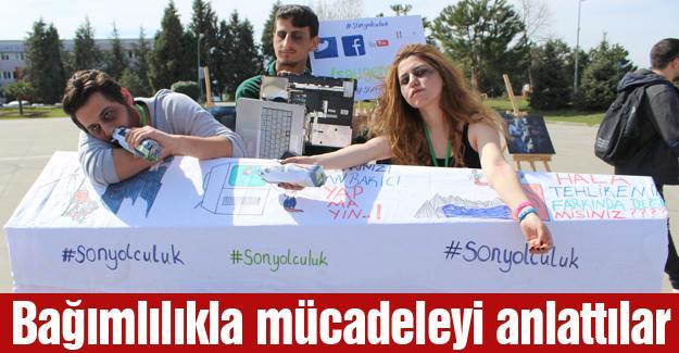 Yeşilay'dan Sakarya Üniversitesinde etkinlik