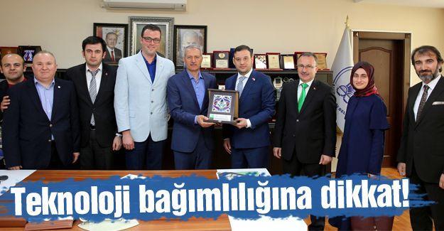 Yeşilay Sakarya Şubesi'nden Başkan Dişli'ye ziyaret
