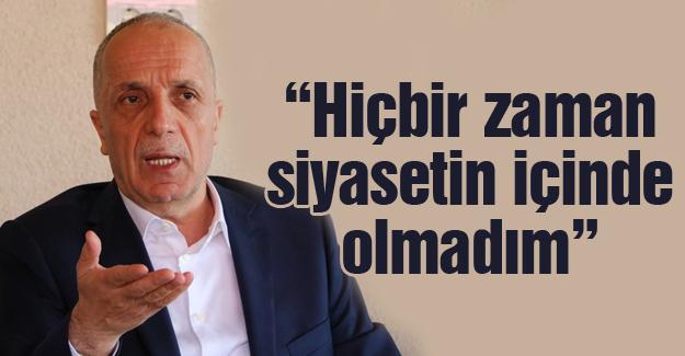 Türk-İş Başkanı Atalay basınla buluştu
