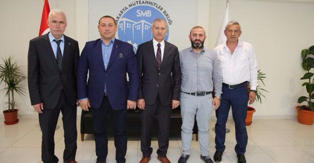 Başkan Dişli'den TİMFED ziyareti
