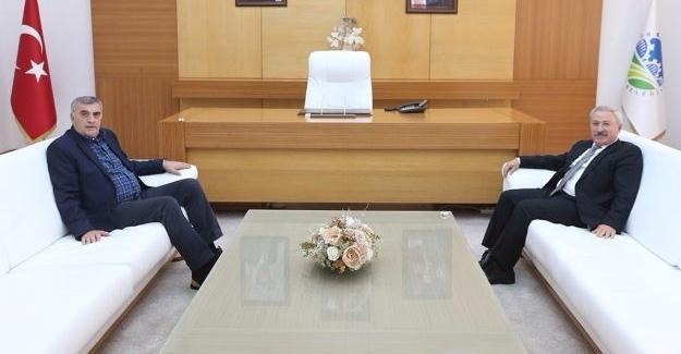 Başkan Toçoğlu, Kocaarslan'ı ağırladı