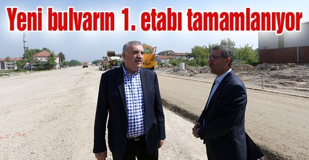 Başkan Toçoğlu yeni bulvarı ineledi