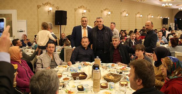 Berberler Odası'ndan üyelerine iftar