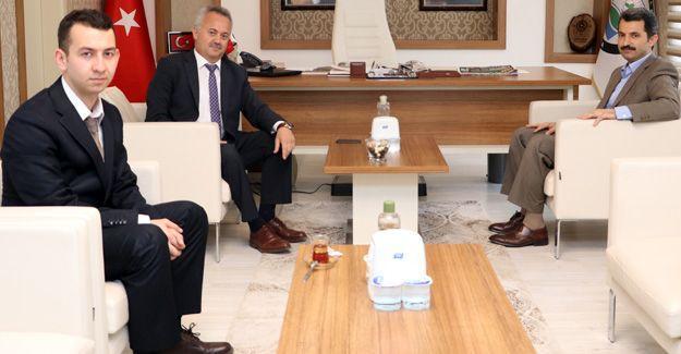 İl Sağlık Müdürü Öğütlü'den Başkan Acar'a ziyaret
